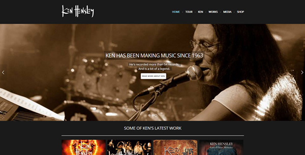 ken hensley site screengrab